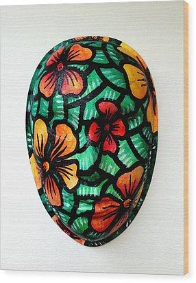Hope On Spring Wood Print by Marconi Calindas