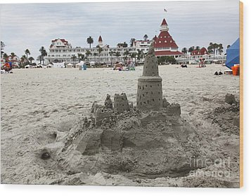 Hotel Del Coronado In Coronado California 5d24264 Wood Print by Wingsdomain Art and Photography