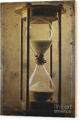 Hourglass  Wood Print by Bernard Jaubert