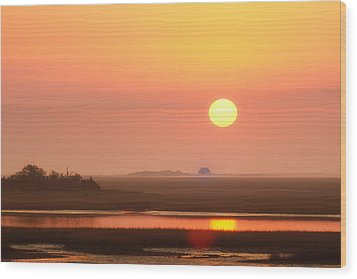 House Of The Rising Sun Wood Print by Jo Ann Tomaselli