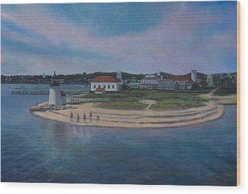 Hyannis Port Cape Cod Wood Print by David P Zippi