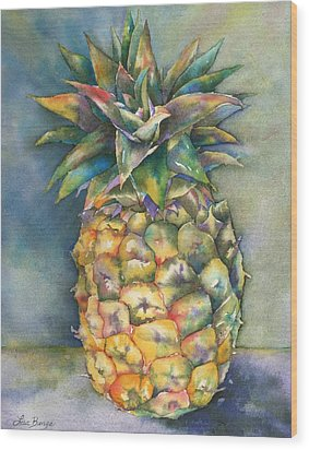 In Living Color Wood Print by Lisa Bunge