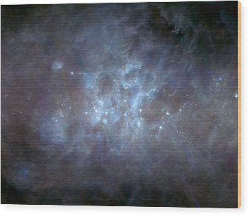 Wood Print featuring the photograph Infrared View Of Cygnus Constellation by Science Source