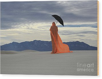 Into The Mystic 5 Wood Print by Bob Christopher