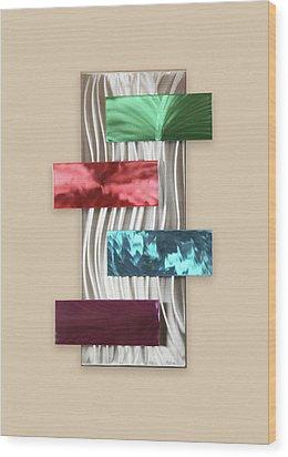 Intrigue Wood Print by Rick Roth