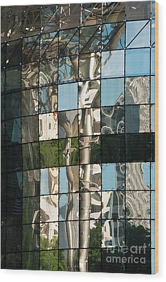 Ion Orchard Reflections Wood Print by Rick Piper Photography