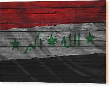 Iraq Wood Print by Joe Hamilton
