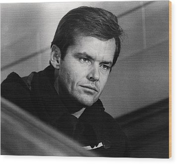Jack Nicholson In Five Easy Pieces  Wood Print by Silver Screen