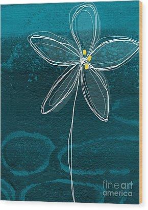 Jasmine Flower Wood Print by Linda Woods