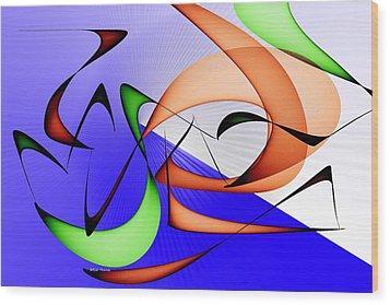 Jazz Wood Print by Rick Thiemke