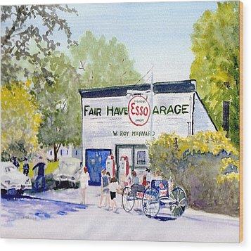 July Fair Haven Ny Wood Print by Carol Burghart