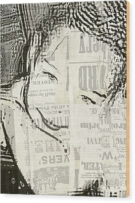 KAM Wood Print by HollyWood Creation By linda zanini