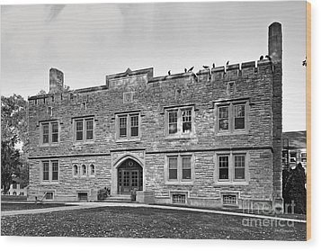Kenyon College Ransom Hall Wood Print by University Icons