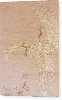 Kihaku Crop I Wood Print by Haruyo Morita