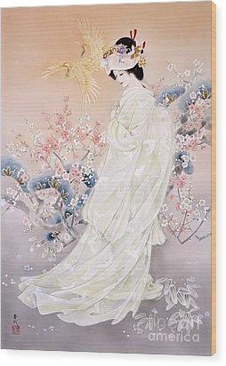 Kihaku Wood Print by Haruyo Morita