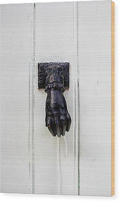 Knock Knock Wood Print by Georgia Fowler