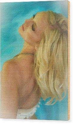 Kristin Wood Print by Angela A Stanton