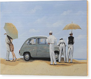 La Seicento Wood Print by Guido Borelli