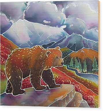 Land Of The Great Bear Wood Print by Harriet Peck Taylor