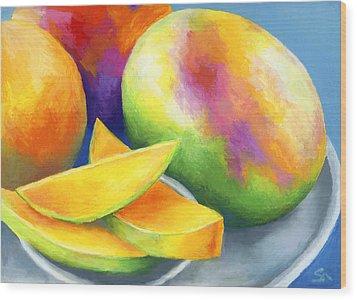 Last Mango In Paris Wood Print by Stephen Anderson