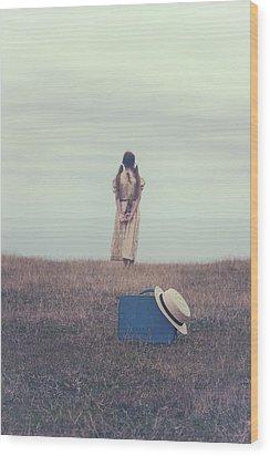 Leaving The Past Behind Me Wood Print by Joana Kruse