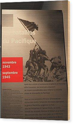 Les Invalides - Paris France - 011358 Wood Print by DC Photographer
