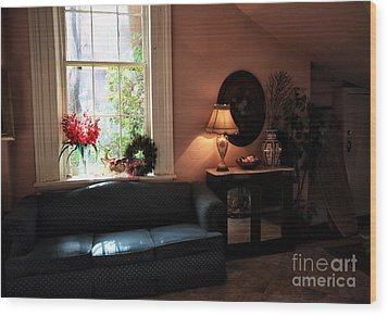 Light By The Window Wood Print by John Rizzuto