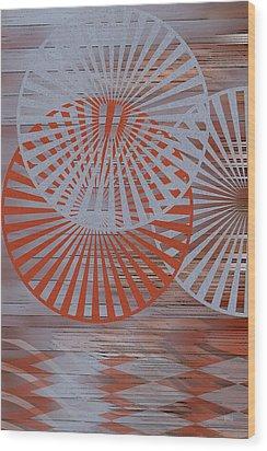 Living Spaces No 2 Wood Print by Ben and Raisa Gertsberg