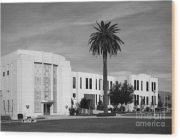 Loma Linda University Library Wood Print by University Icons
