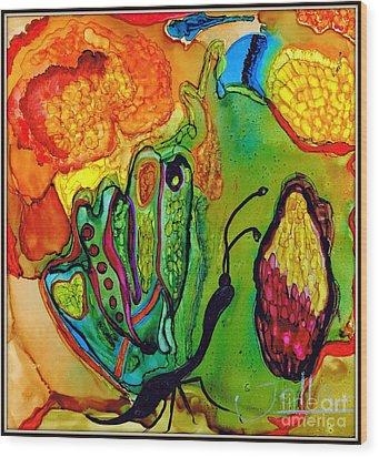 Lost Butterfly.. Wood Print by Jolanta Anna Karolska