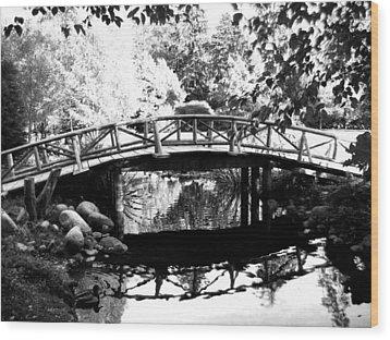 Lost Lagoon Bridge  Wood Print by Will Borden