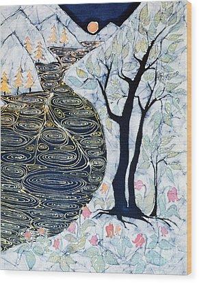 Lothlorien  Wood Print by Carol Law Conklin