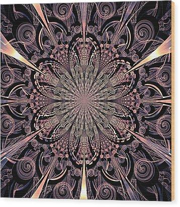 Lotus Gates Wood Print by Anastasiya Malakhova