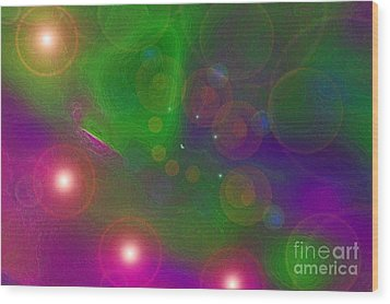 Love Dreams By Jrr Wood Print by First Star Art