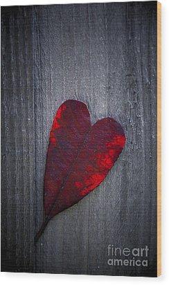 Love Wood Print by Svetlana Sewell