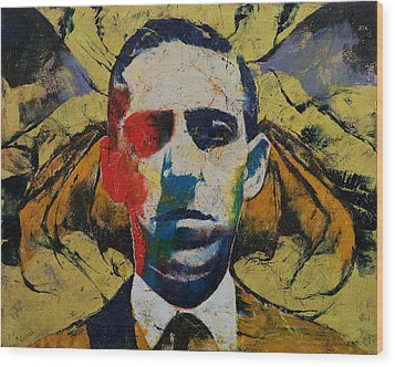 Lovecraft Wood Print by Michael Creese