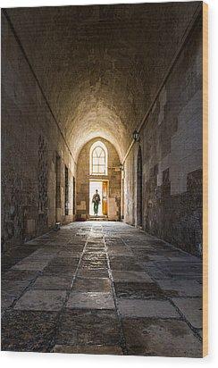 Madrasah Wood Print by Okan YILMAZ