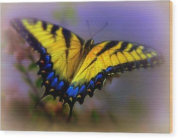 Magic Of Flight Wood Print by Karen Wiles