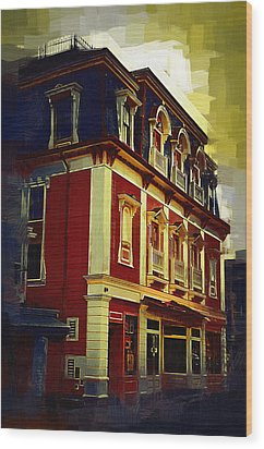 Main Street Usa Wood Print by Kirt Tisdale