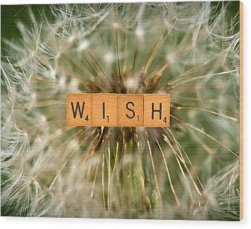 Make A Wish Wood Print by  Onyonet  Photo Studios