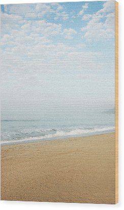 Malibu Morning Wood Print by Ari Jacobs
