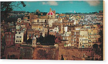 Malta Wood Print by Christo Christov