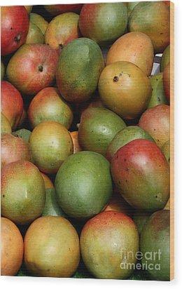 Mangoes Wood Print by Carol Groenen