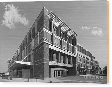 Marquette University Eckstein Hall  Wood Print by University Icons