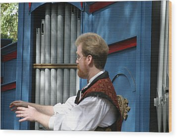 Maryland Renaissance Festival - Mike Rose - 12123 Wood Print by DC Photographer