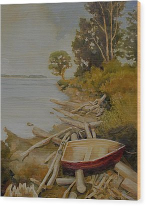 Maude Bay Wood Print by Sue  Darius