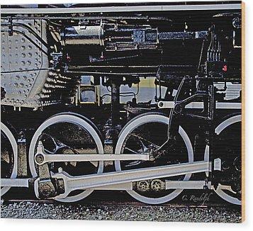 Mechanical Advantage Wood Print by Cheri Randolph