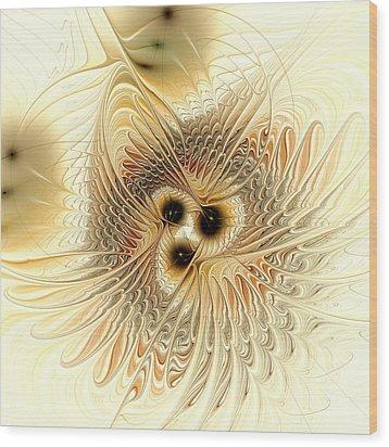 Meld Wood Print by Anastasiya Malakhova