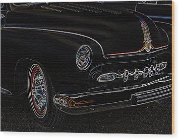 Mercury Glow Wood Print by Steve McKinzie