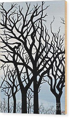 Mesa Verde Wood Print by Christine Belt